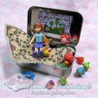 Pocket Tin Doll Set