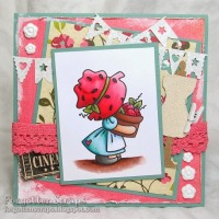 Sunbonnet Strawberry Basket