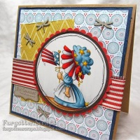 Fancy Sunbonnet Patriotic