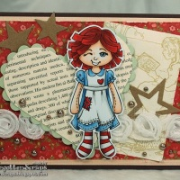 Paprika as Raggedy Ann
