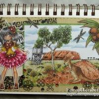 Gumnut Flower Girl