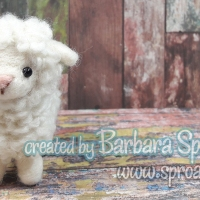 H441-288 Felted Lamb