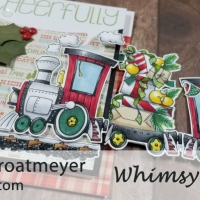Linking Train from Whimsy Stamps