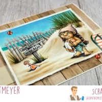 Summer With My Gnomies from Scrappy Boy Stamps